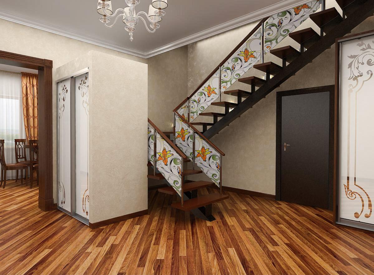 Картинки лестницы на второй этаж в частном доме схема